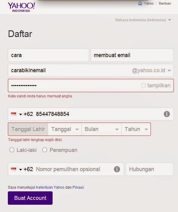 Cara Membuat Email dengan Yahoo Mail