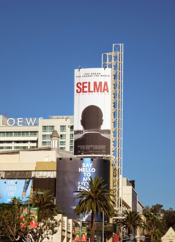 Selma film billboard