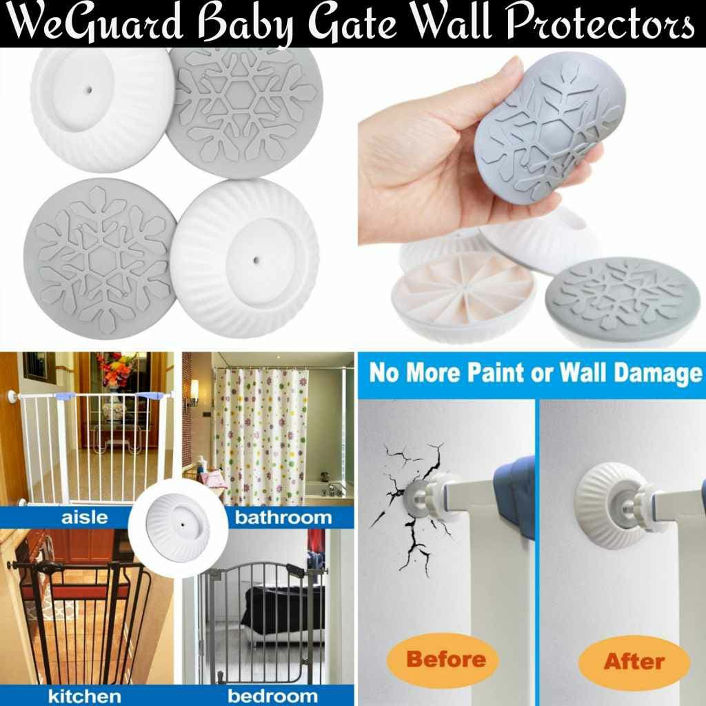PROTECT your Walls with WeGuard Protectors for Baby Gates