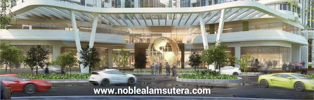 Lobby Apartemen The Noble Alam Sutera