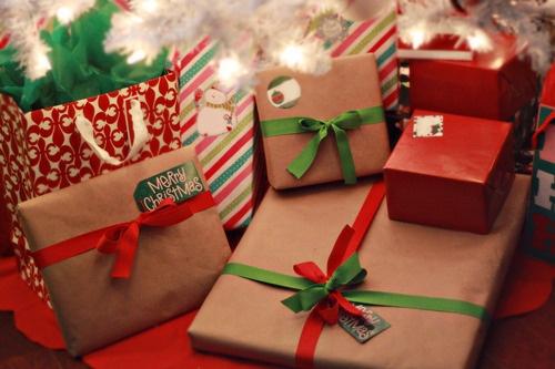 Envoltura de Regalos navideos