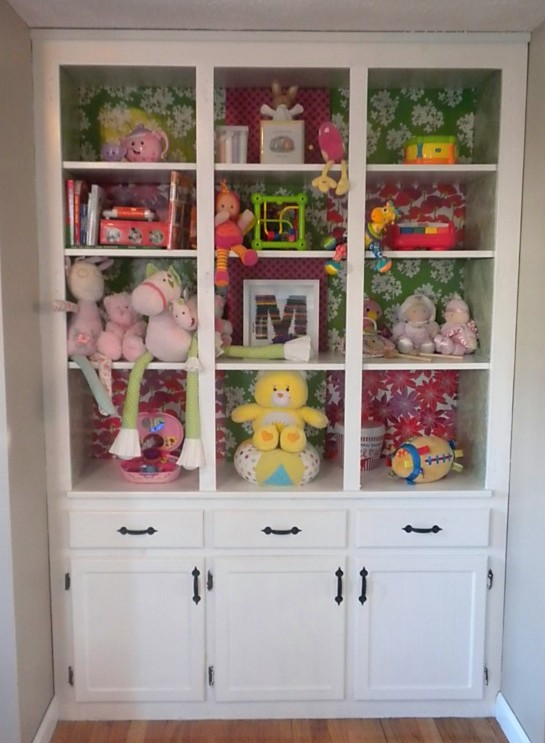 Bon China Cabinet Turned Toy Chest Update