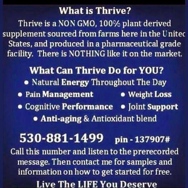 What is LeVel THRIVE??