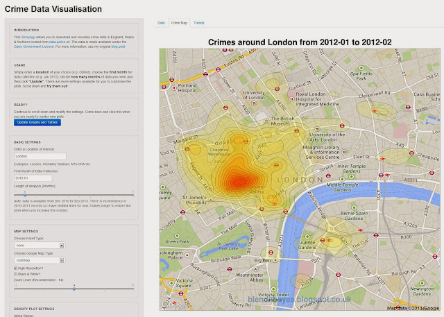Introducing CrimeMap – A Web App Powered by ShinyApps!