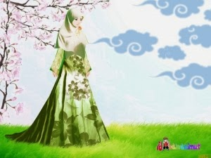 Sutera Hijau Adalah Pakaian Ahli Syurga