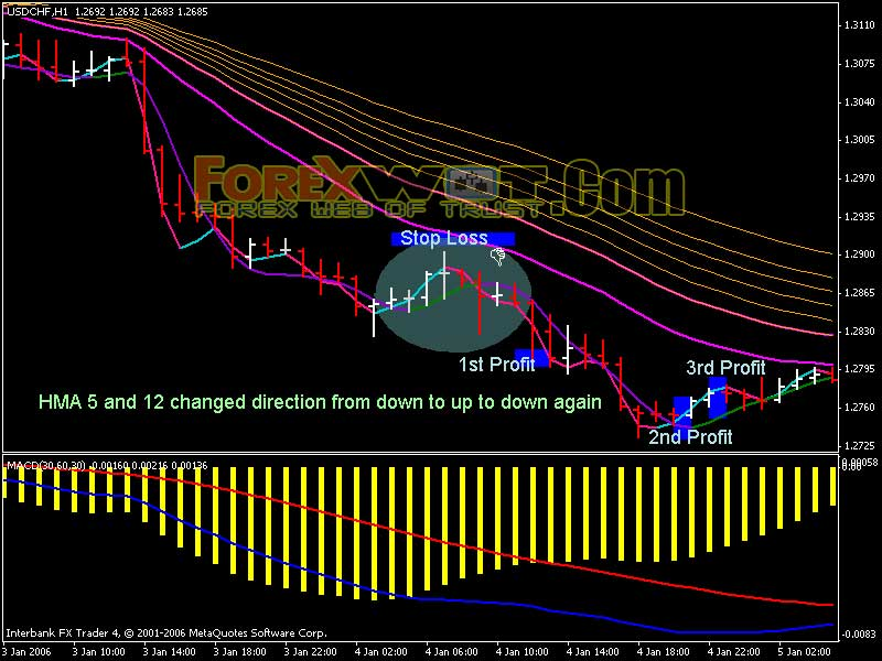 Multiple moving averages forex