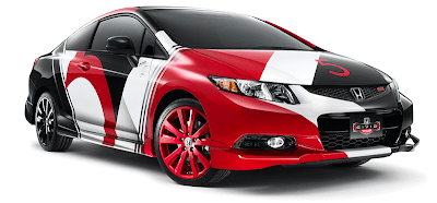 Enter to win a Honda Civic customized by Maroon 5.