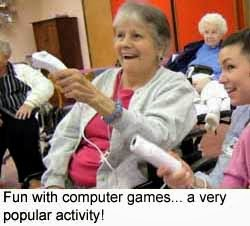 Games for the elderly