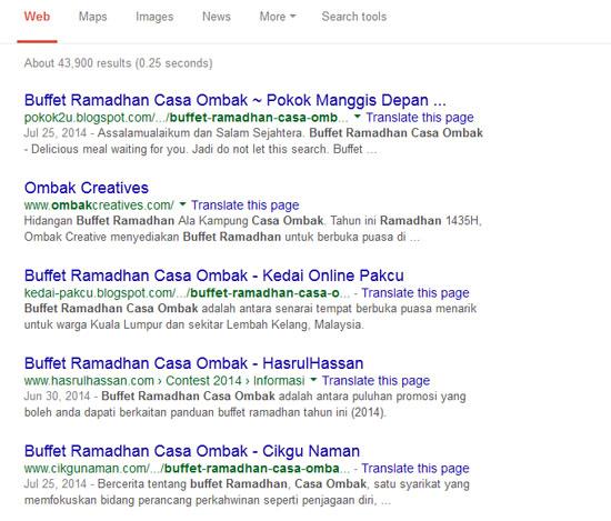 Blogger Malaysia bantu lariskan jualan restoren