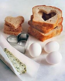 Desayunos para el Dia de la Madre, Tostadas Romanticas