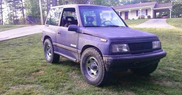 1990 Chevy Geo Tracker 4x4 for Sale - 4x4 Cars