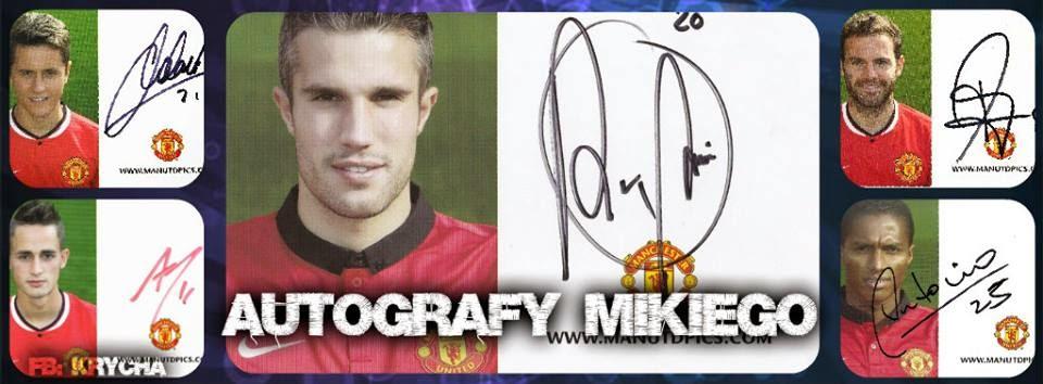 Autografy Mikolaja
