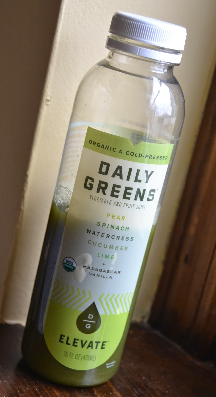 Daily Greens juices