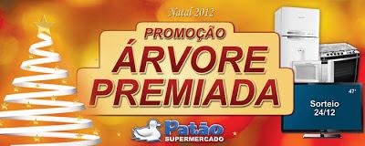 """Promoção """"Árvore Premiada Patão Supermercado"""""""