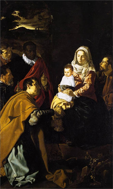 Diego Velazquez, Adoration of the Kings, art