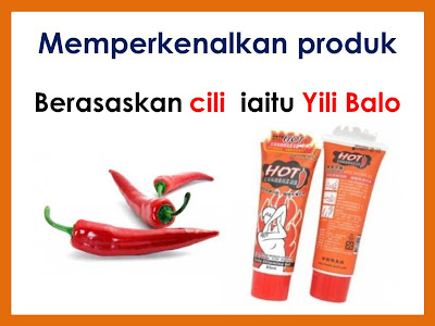 YILI BALO HOT CHILLI SLIMMING CREAM 250ml MURAH