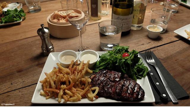 Restaurant De Viande L'Aller Retour Paris steak