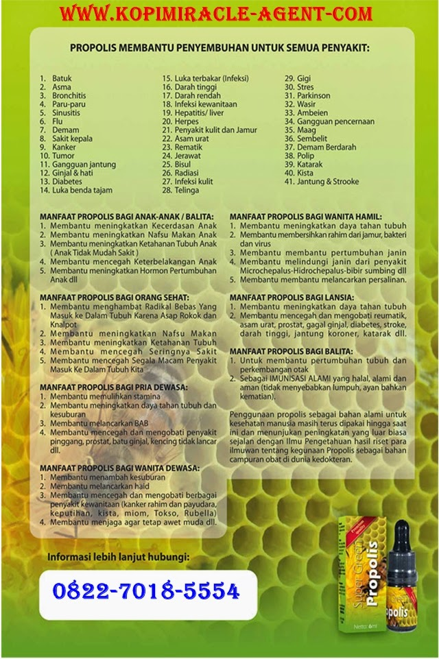 http://www.kopimiracle-agent.com/2014/10/manfaat-dan-khasiat-propolis.html