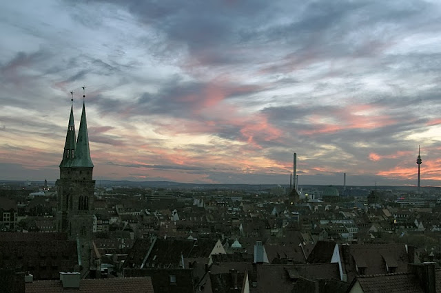 Sunset Nuremberg