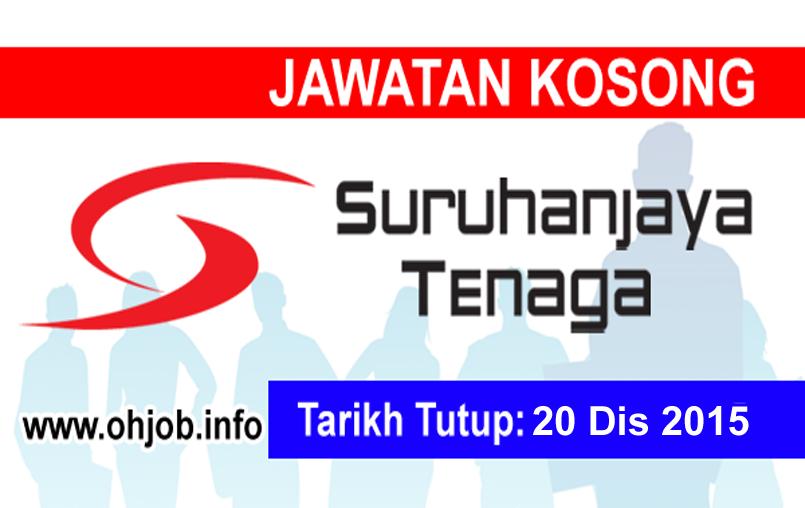 Jawatan Kerja Kosong Suruhanjaya Tenaga (ST) logo www.ohjob.info disember 2015