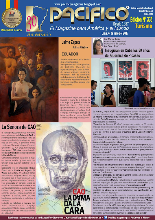 Revista Pacífico Nº 335 Turismo