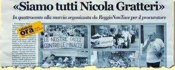 Napolitano ricorda, siamo tutti Nicola Gratteri