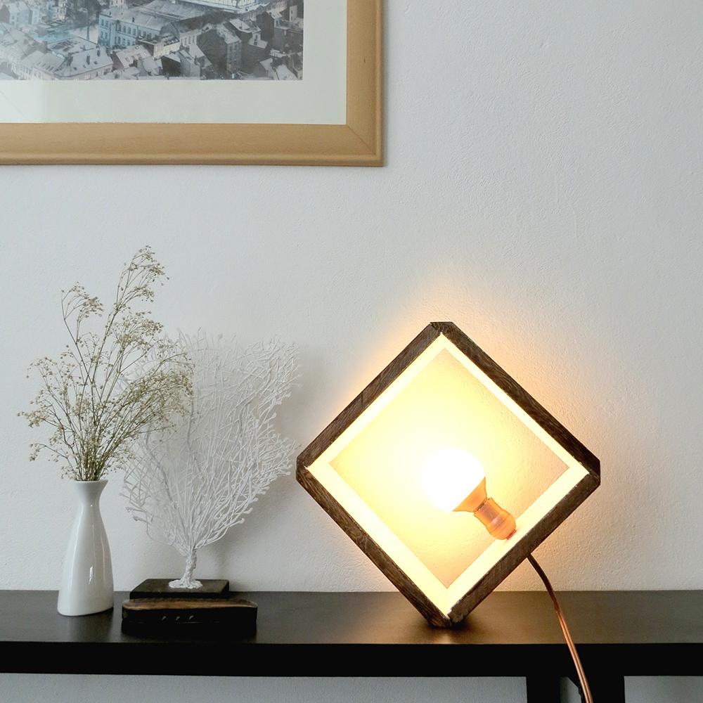 Design Diy Lamp diy lamp gallery dwellinggawker minimal cube lamp