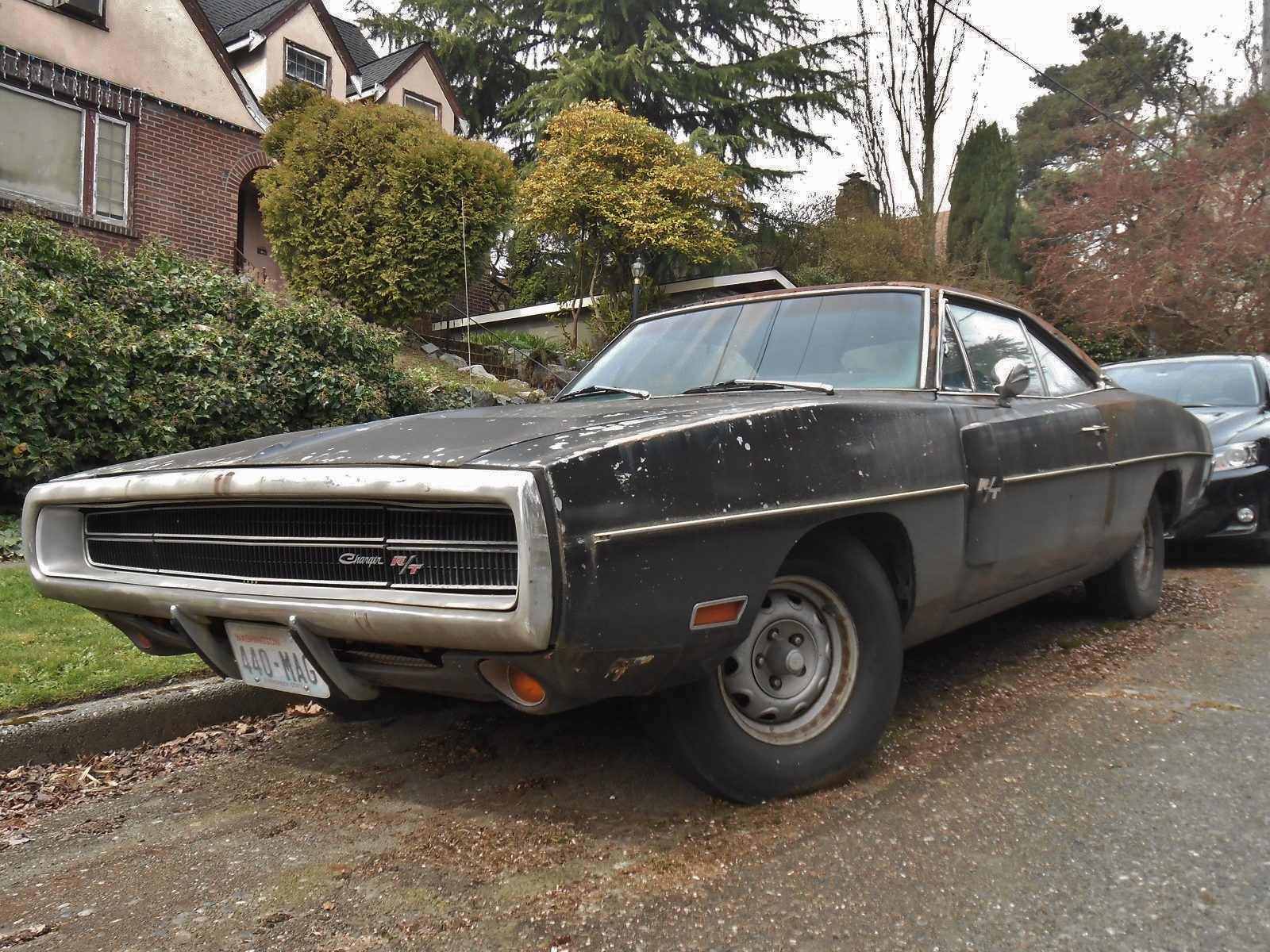 seattle 39 s parked cars 1970 dodge charger r t. Black Bedroom Furniture Sets. Home Design Ideas