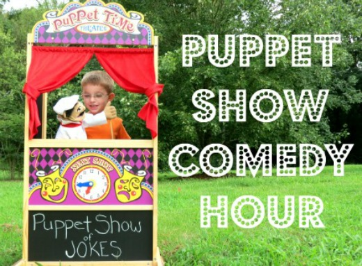 Camp sunny patch puppets and jokes