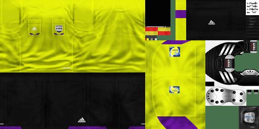 Uniforme Adidas Árbitros Temporada 2012/2013 by dar19 - PES 6