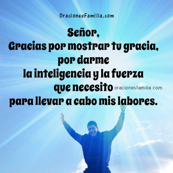 Oración corta de la mañana, inicio del día, buenos días Señor, bendiciones y ayuda de Dios en este nuevo día. Oraciones por Mery Bracho.