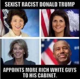 Sexist Racist Donlad Trump
