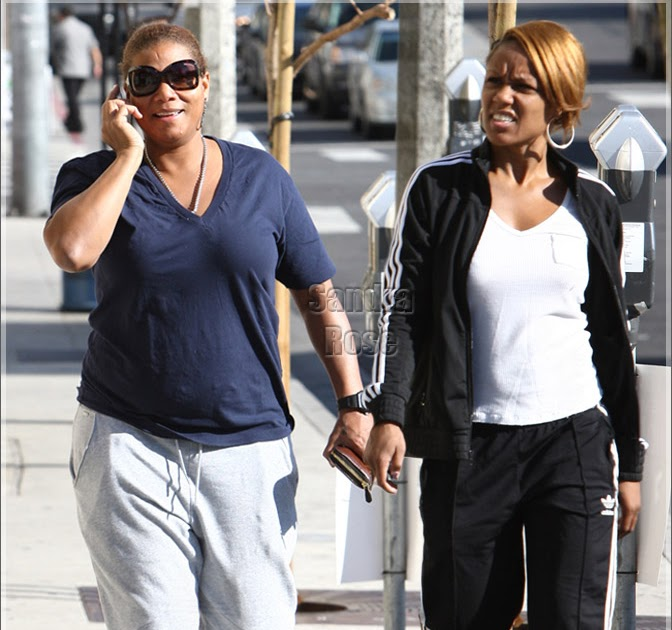 Queen Latifah And Girlfriend 2017