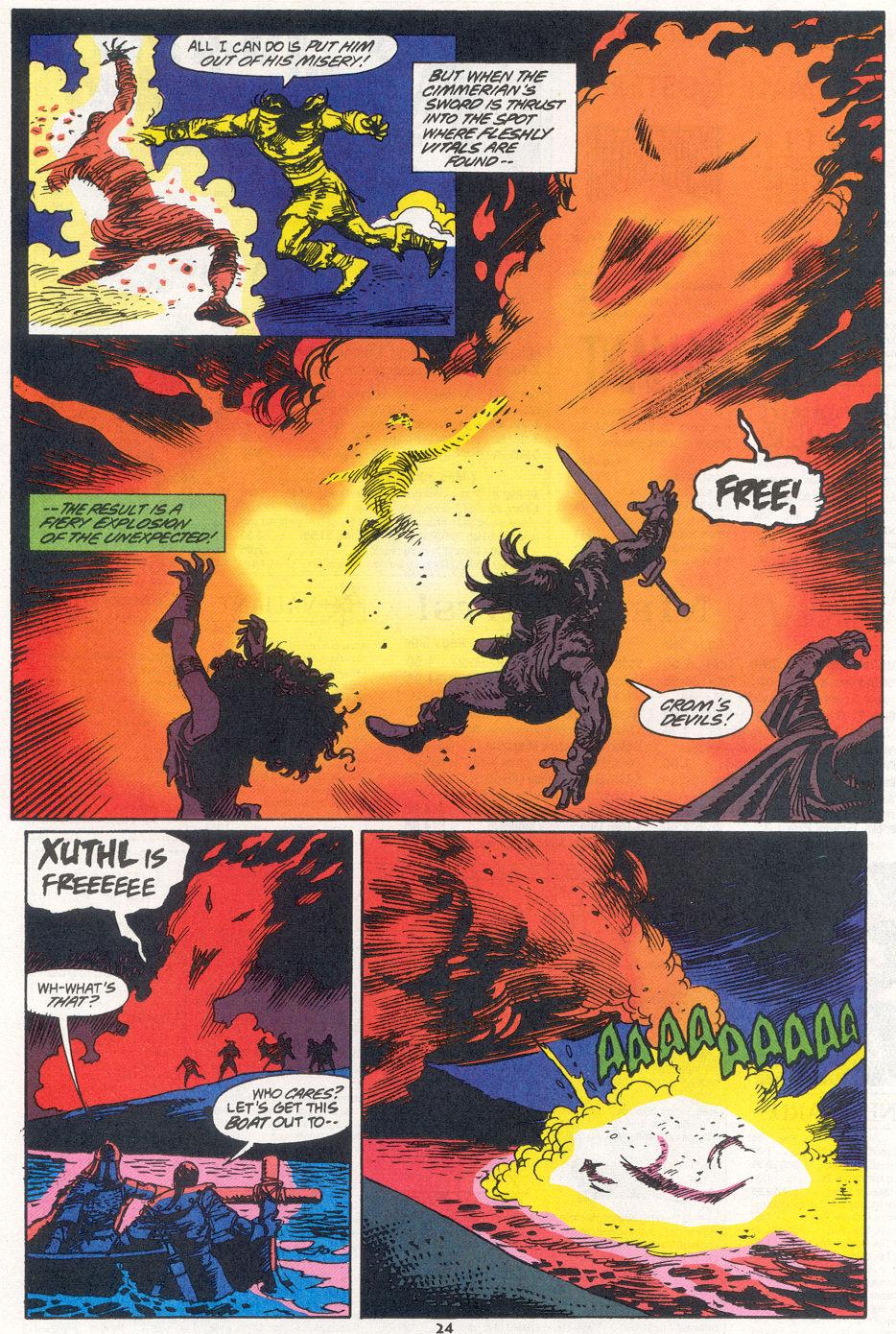 Conan the Barbarian (1970) Issue #270 #282 - English 18