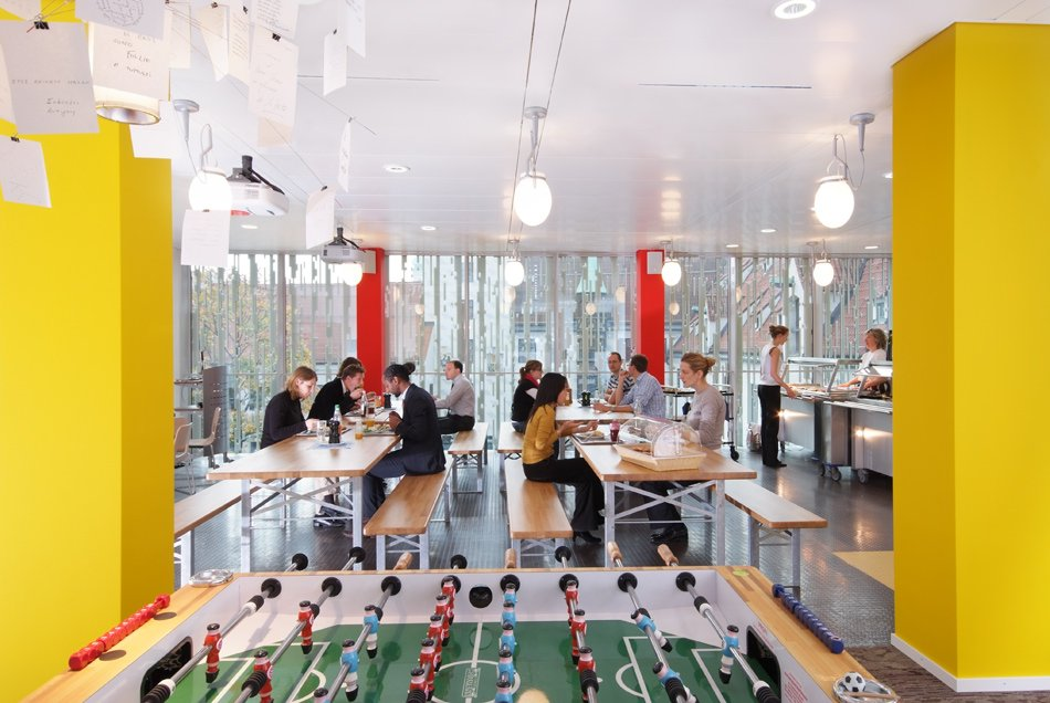 Google Office Munich Set In Check Out The Colorful And Amazing Interiors Google Office In Munich Inside Beautiful Munich On Trends More