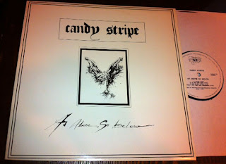 Candy Stripe - As Above So Below LP (1990, Disques-Editions TLP)