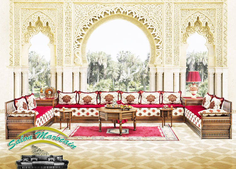 salon marocain modele 2016 d coration salon marocain. Black Bedroom Furniture Sets. Home Design Ideas