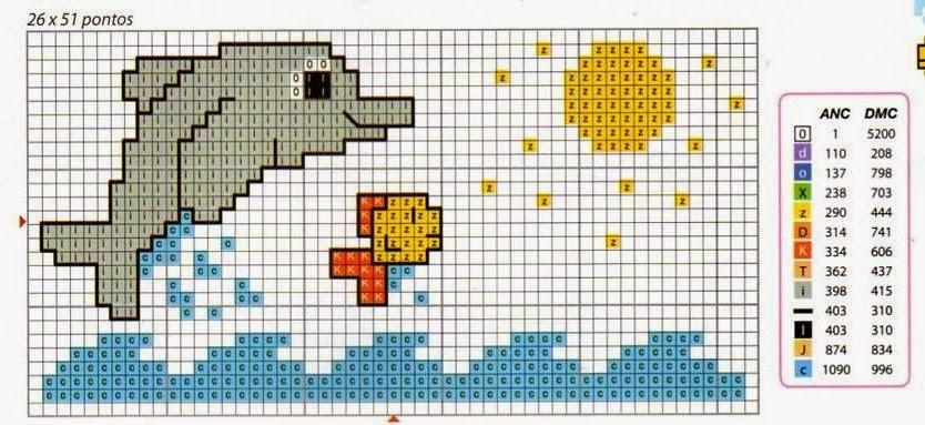 Raccolta di piccoli ricami a punto croce per lenzuolini for Ricami a punto croce per neonati