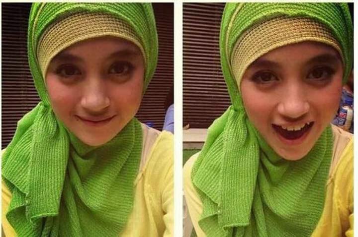 Nabilah JKT48 Cantik Menawan Dengan Berjilbab (Foto) - DuSeWa