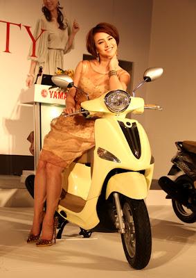 Yamaha Nozza Scooter
