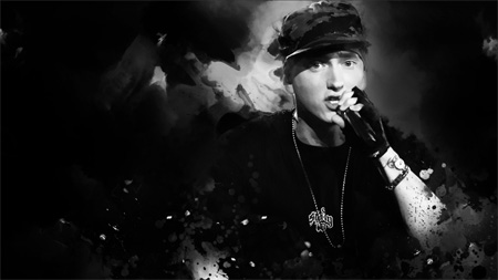 Eminem Fan Art Wallpaper