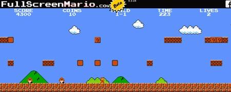 juega Full Screen Mario online