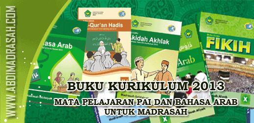 Buku Kurikulum 2013 PAI Dan Bahasa Arab Untuk Madrasah