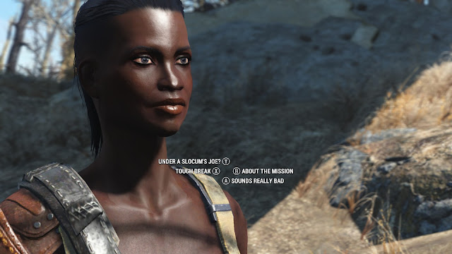 Fallout 4 conversation dialog options