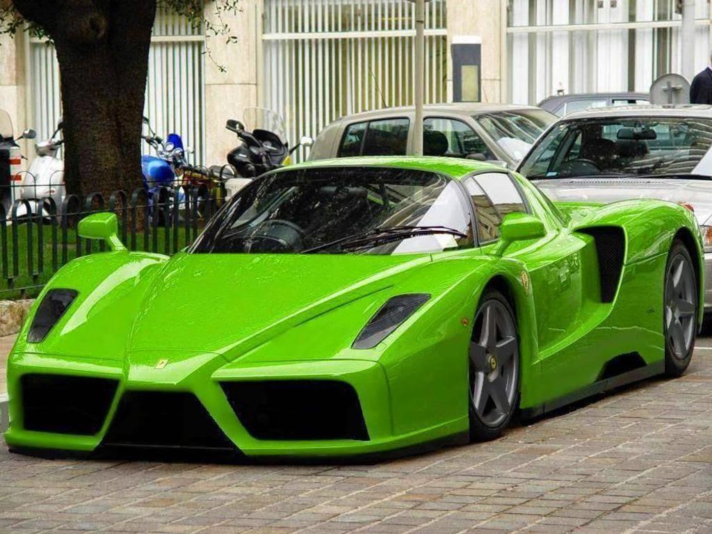 Ferrari Enzo 2014 Green
