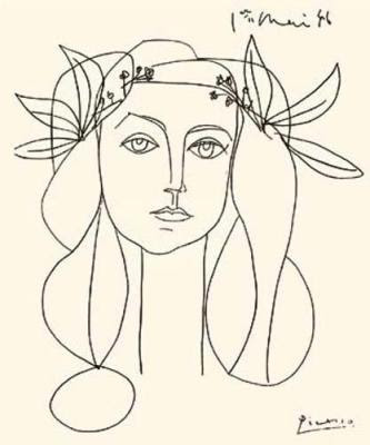 visual recording blog pablo picasso line drawings