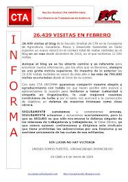 26.439 VISITAS EN FEBRERO