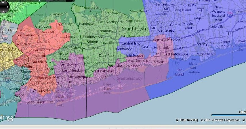 Congressional District Map Long Island