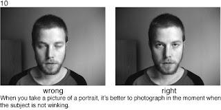 Совет 10. Когда снимаете портрет, необходимо поймать момент, когда снимаемый не моргает