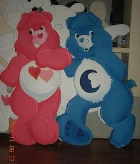 dekorasi styrofoam beruang